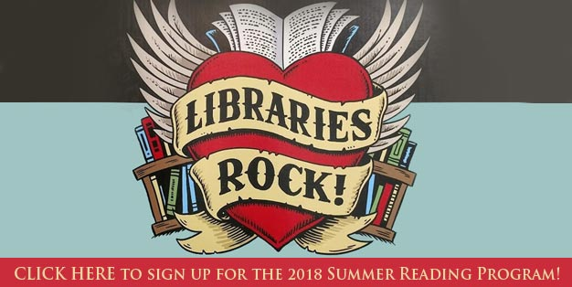 Summer Reading Program Sign Up Form